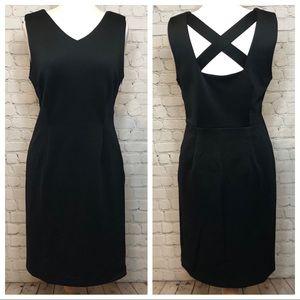Black Dress Tahari Sleeveless Size 10 NWT